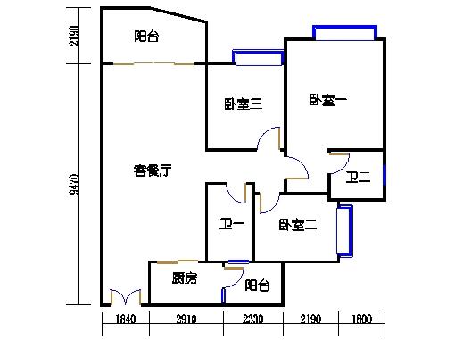 C2栋05-17.23-25单数层05单元