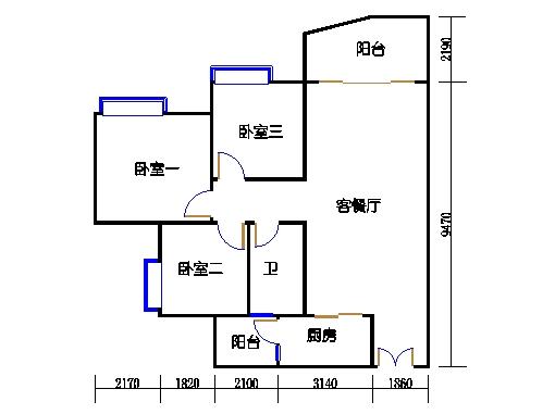 C2栋19层04单元