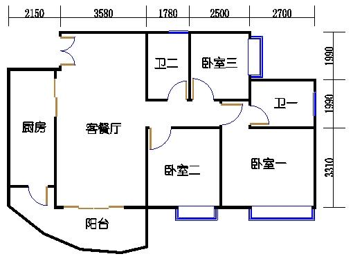 C2栋19层06单元