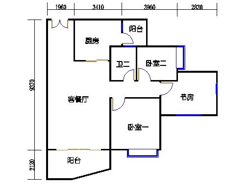C1栋03-21层01单元