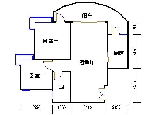 C1栋03-21层03单元