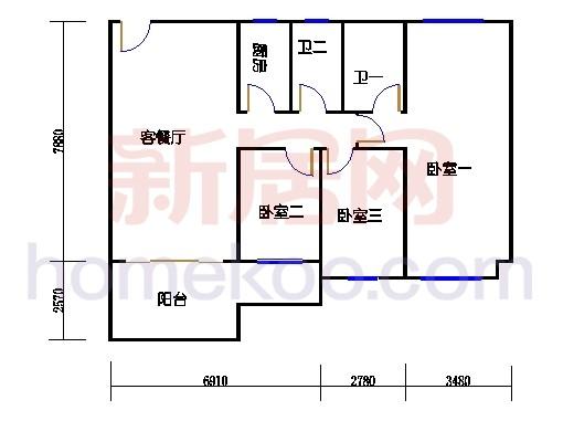C2幢二层05单元