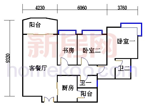 H1栋5-18层01单元