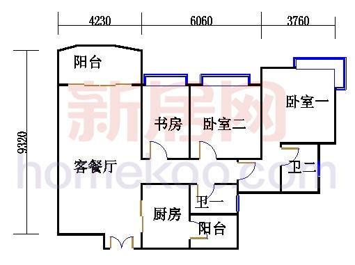 H1栋5-18层02单元
