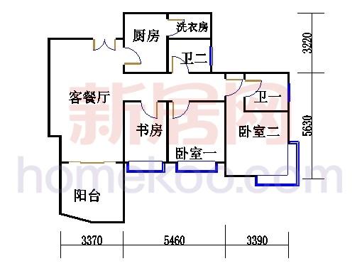 H3栋5.7.9.11.13层02单元