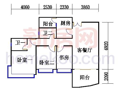 H3栋4.6.8.10.12层01单元