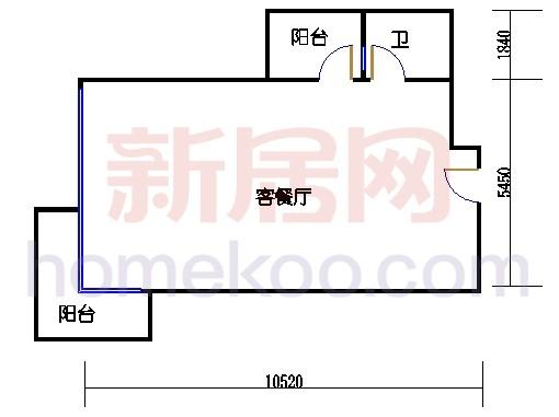 A栋4-14楼(双数楼层)04单位