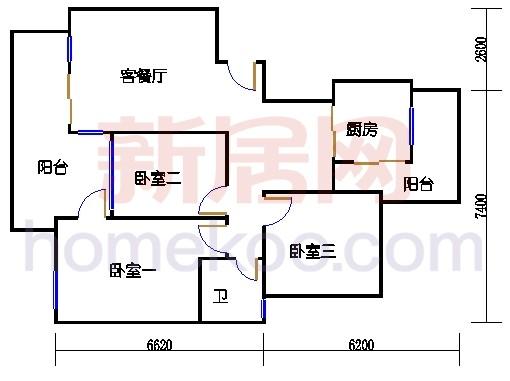 B1-1、B1-2、B1-3、B1-4栋01单位