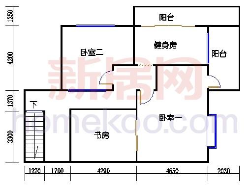 5栋2梯604单元第二层