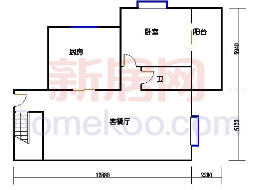 5栋2梯604单元第一层