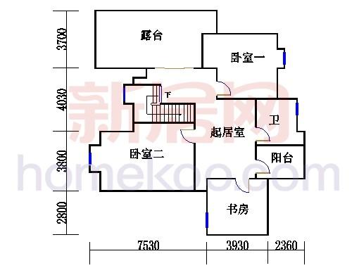 12栋2梯901单元二层