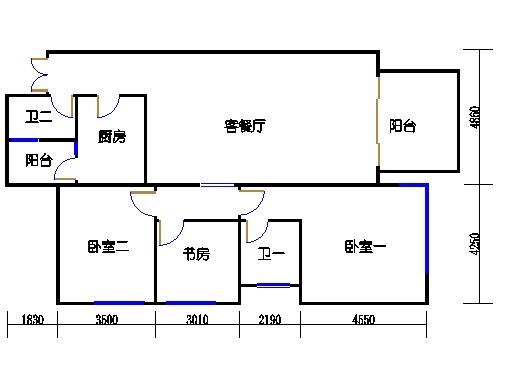 D3.D4栋1、6号房