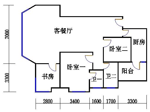 A栋21-31层02单位