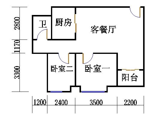 A栋21-31层04单位