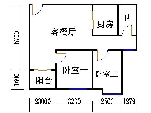 A栋21-31层05单位
