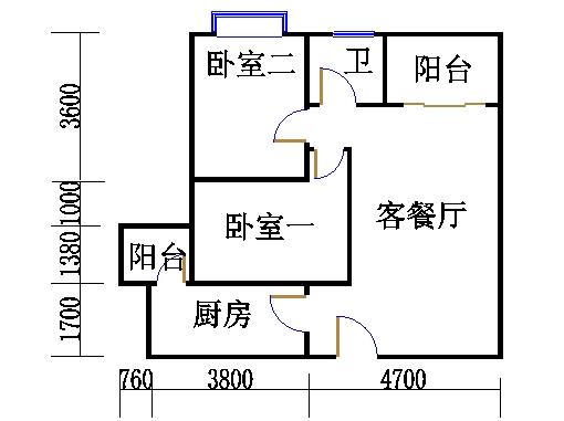 A栋21-31层07单位