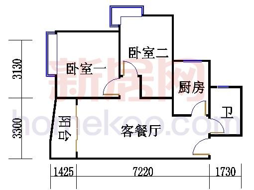 5栋6-18.28-31层06单元