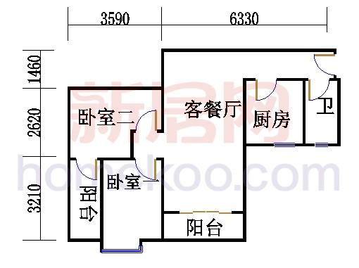 5栋5层503单元