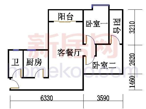 5栋5层507单元