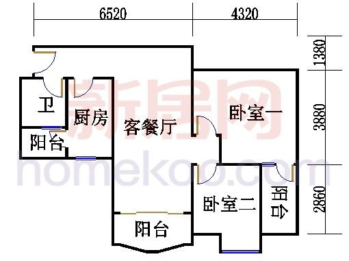 6栋5层508单元
