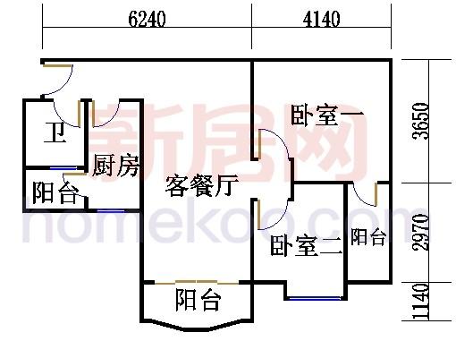 8栋5层508单元