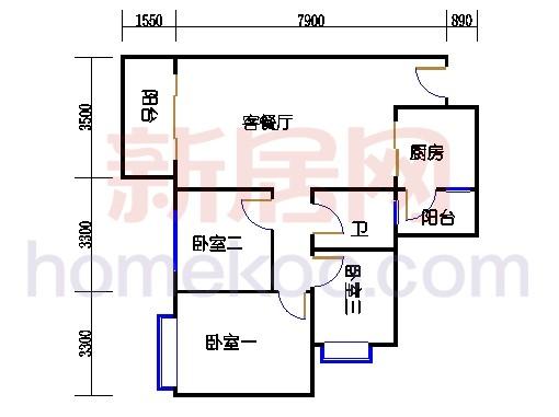 D1栋16层01单元