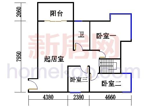 36栋复式上层1004单元
