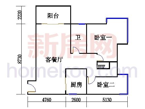 36栋十层复式下层1004单元