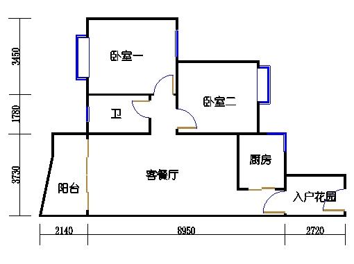 C1栋2-9层08单元