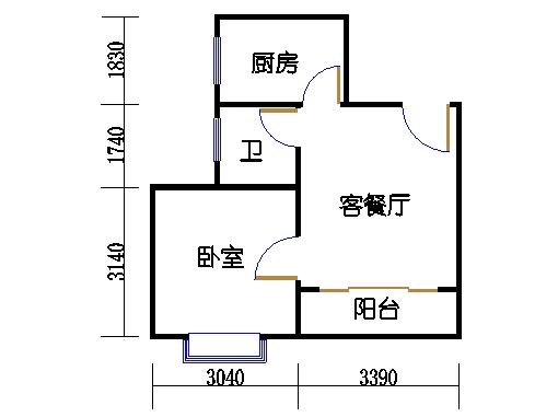 C2栋2-9层04单元