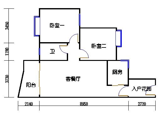 C2栋2-9层08单元