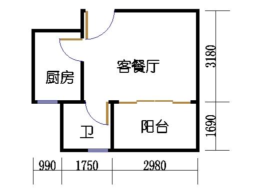 C3栋2-9层02单元