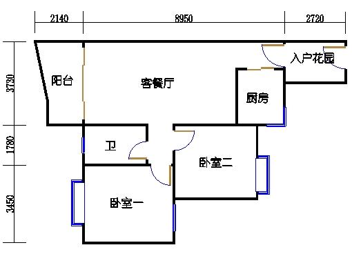 C3栋2-9层05单元
