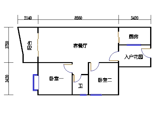 C3栋2-9层07单元