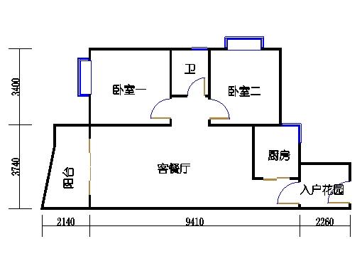 C3栋2-9层08单元
