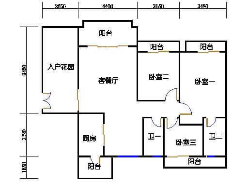 A6栋17-18层01单元