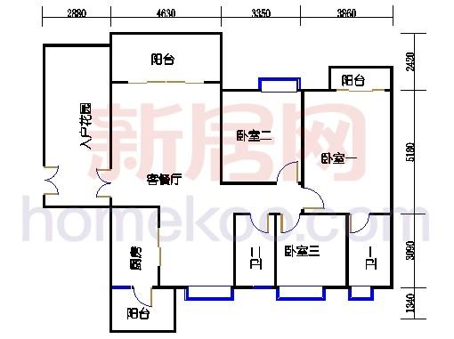 A8栋4-16层01单元