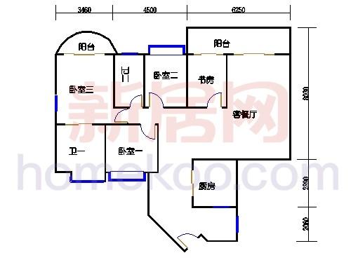 C10-26层01单元