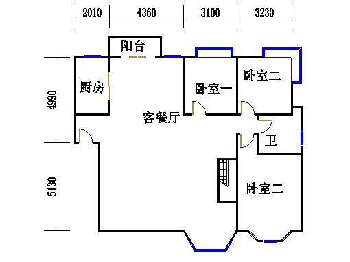 A2单元复式下层