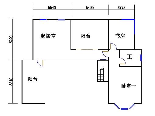 A2单元复式上层