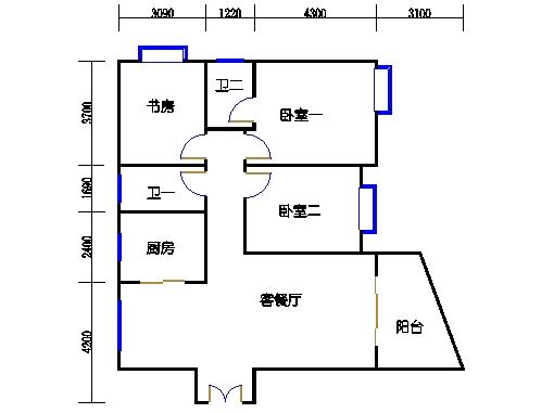 36-37栋2-15层01室