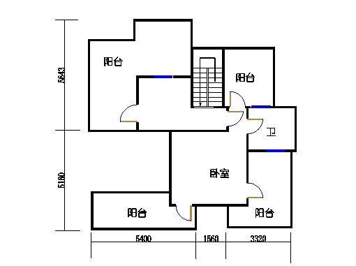 F7单元六楼复式上层