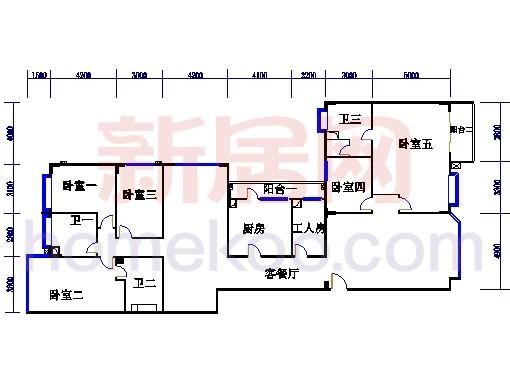 海典楼、海富楼、海雅楼9-12层A单元