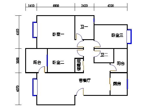M单元3.12-16.21-25号楼