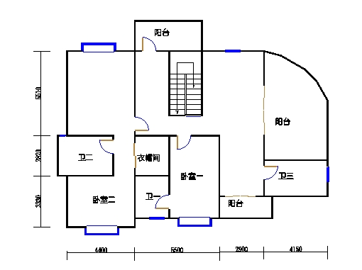 仙荷阁3单元14-15层B-A
