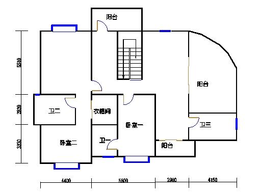 仙荷阁3单元14-15层B-D