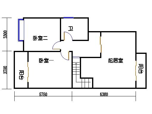 11#楼B单元二层