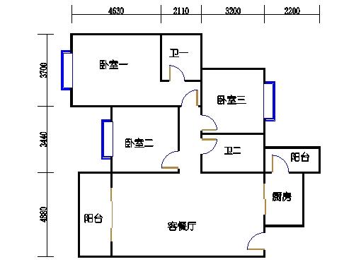 8座三梯4-8层02单元