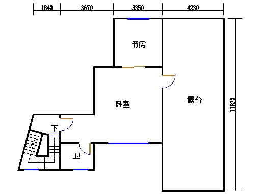 8座一梯顶层二层02单元