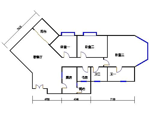 裕景1座4-23、25-29层H单元